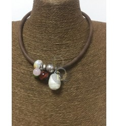 Necklace. Bull pythons