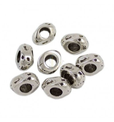 Donut irregular de Zamak 14x8,5mm