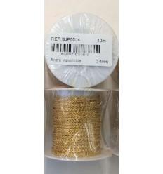 Cadena acero dorada 4 mm