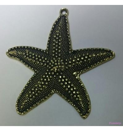 Colgante Estrella Dorado Ref. F030146