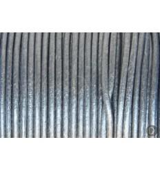 cuero gris anacarado