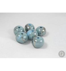 Bolas de Porcelana Griega Esmaltada.0013