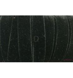 Terciopelo Elástico Negro 20mm