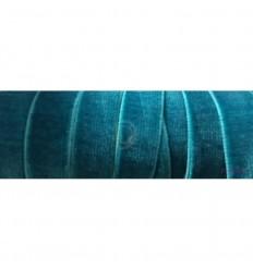 Terciopelo Elástico Azul Petróleo