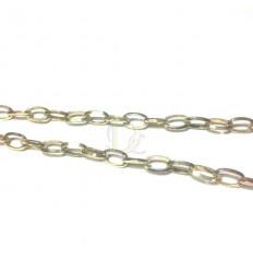 Cadena de alumino. Tamaño: 15x0,8mm