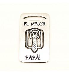 Chapa Llavero El mejor papá