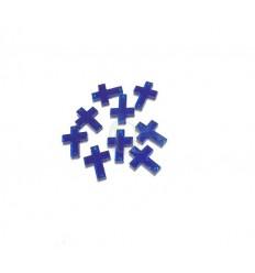 Cruz azul cristal